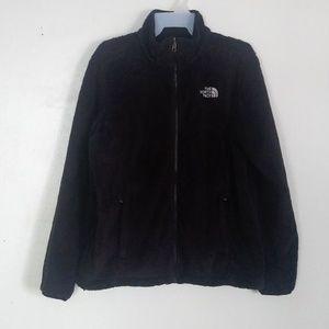 The North Face Osito Fuzzy Jacket Black Women's Lg